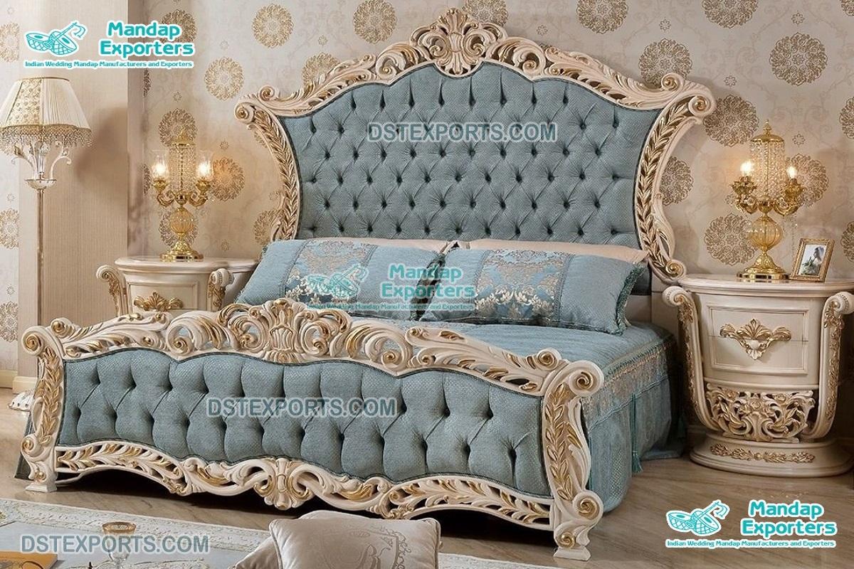 Royal Majesty King Queen Bedroom Furniture Set