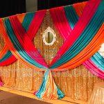 Wedding Multi Color Drapes & Backdrop For Sale