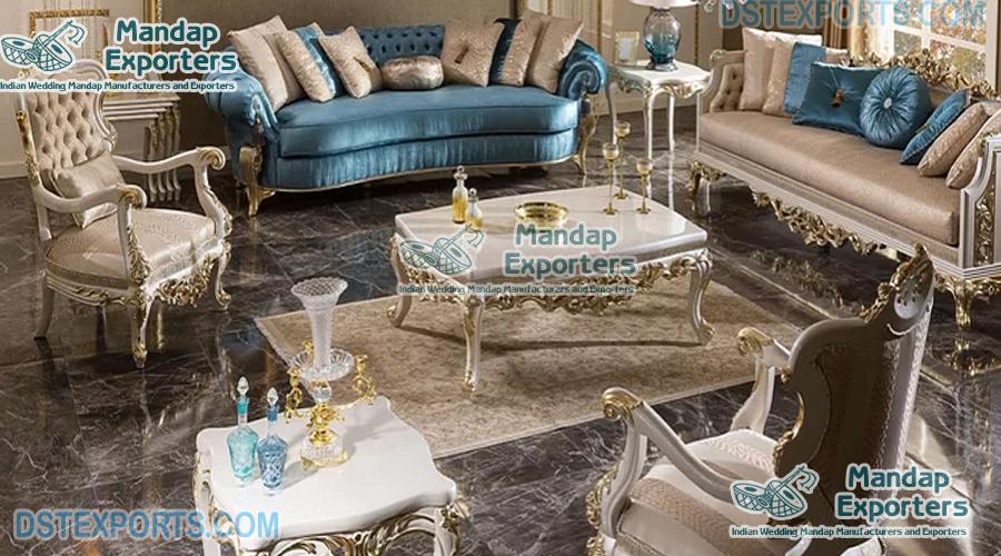 Wooden Carved Living Room Furniture for Sale