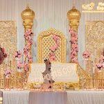 Arabian Wedding Reception Stage Decor