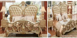 Beautiful Queen Size Hand Carved Bed