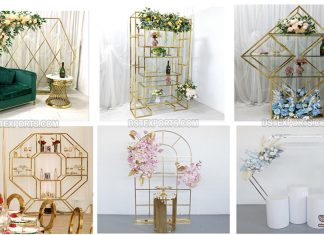 Best Metal Props For Wedding Decoration