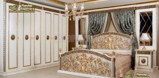 Buy Customized Carved Bedroom Furniture Set