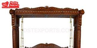 Buy Indian Teak Wooden Traditional Swing