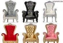 Buy King Queen Thrones For Wedding