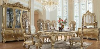 Enchanting Royal Palace Dining Room Furniture Set