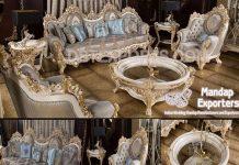 European Baroque Style Living Room Furniture