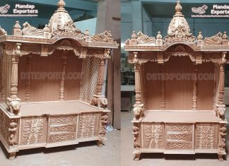 Exclusive Wooden Handcrafted Temples
