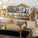 Imperial Design Luxury Living Room Sofa Set