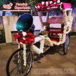 Indian Wedding Decorative Photo Booth Rickshaw