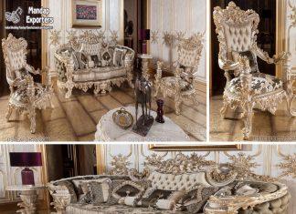 Luxurious Handicraft Teak Living Furniture UK