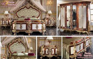 Royal Crown Style European Bedroom Furniture
