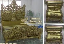 Royal Unique Carving Beds & Bedroom Set
