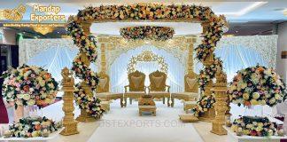 Royal Wooden Hand Crafted Wedding Mandap