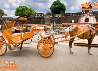 Stylish Horse Drawn Vis A Vis Carriage Sale
