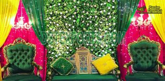 Trending Muslim Wedding Stage Sofa Set