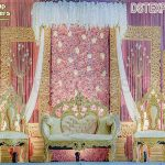 Classical Golden Fiber Frames Wedding Decor