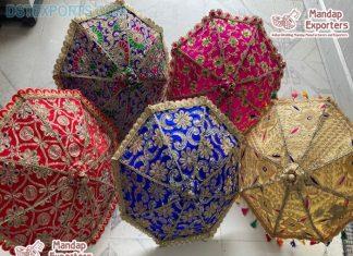 Colorful Wedding Umbrellas For Event Decoration