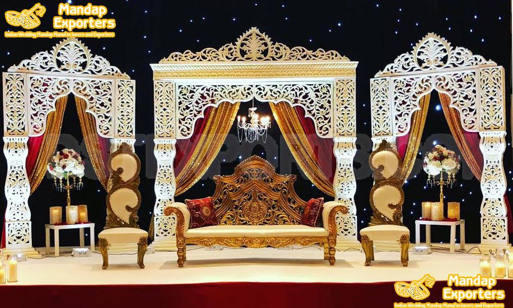 Dazzling Bollywood Wedding Stage Decoration