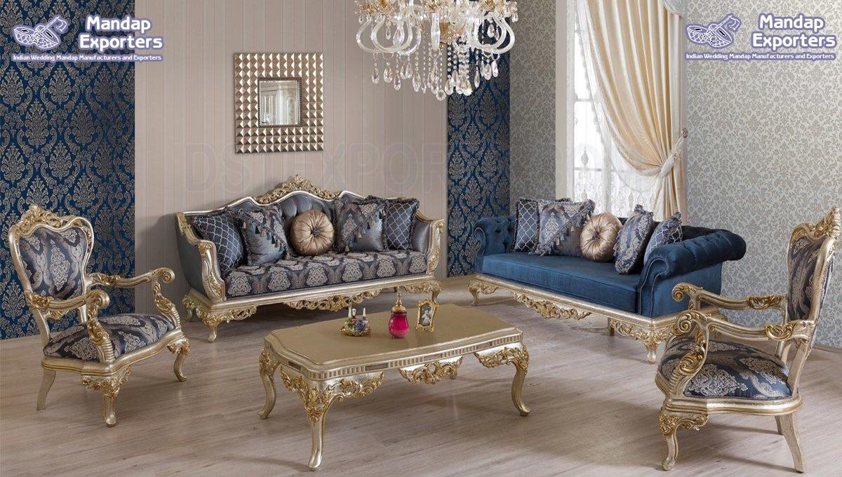 Designer Handicraft Living Room Furniture Set