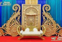Designer Paisley Frames For Wedding Stage Decor