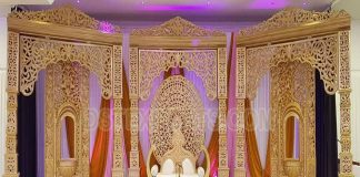 Exclusive Bollywood Theme Wedding Stage