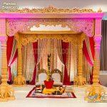 Exclusive Elephant Base Wedding Wooden Mandap