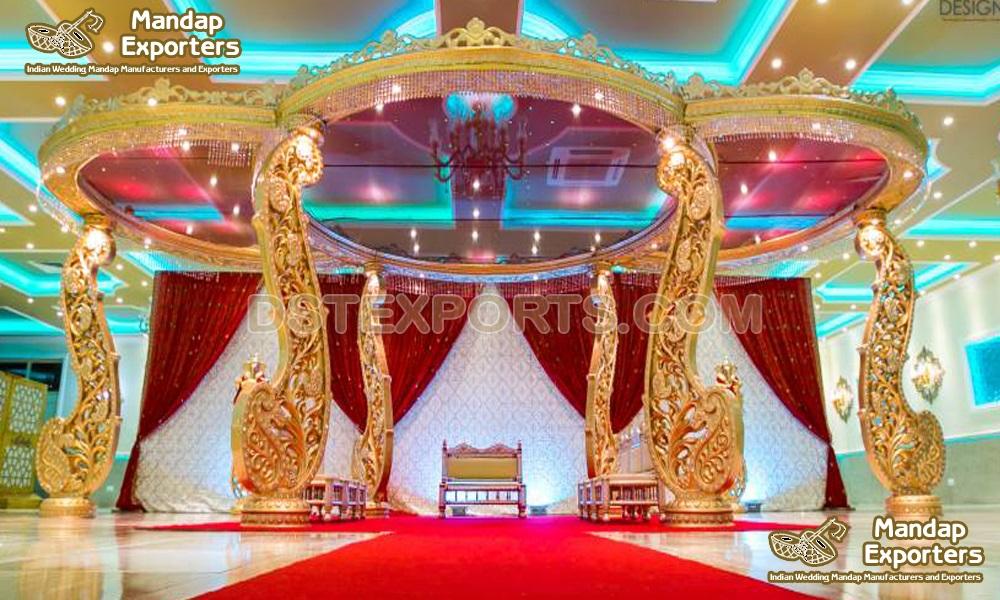 Exclusive Indian Wedding Paisley Mandap Set