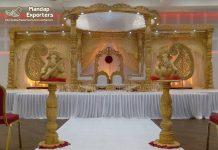 Exclusive Wooden Wedding Mandaps Design