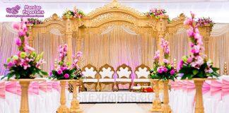 High Quality Wooden Wedding Mandap Hut