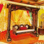 Indian Wedding Bride Groom Swing Seat