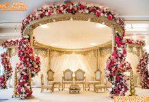 Indian Wedding Wooden Mandap For Sale