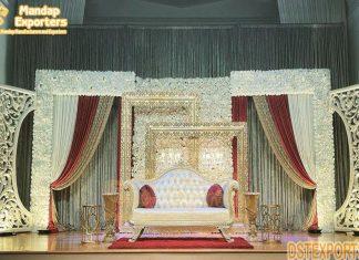 Latest Designer Backdrop Frames For Walima Stage