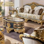 Latest French Style Living Room Furniture Set
