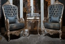 Latest Wooden Carved Living Room Chairs