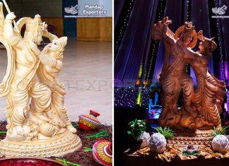 Lord Radha Krishna FRP Statue Manufacturer
