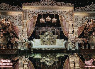 Luxury Bollywood Style Wedding Stage Decor