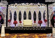 Luxury Wedding Fiber Stage Backdrop Frames
