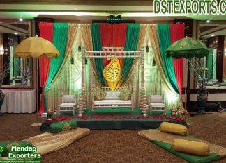 Pakistani Heena Function Stage Decoration
