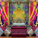 Stunning Wedding Stage Swing Decoration