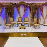 Traditional Wedding Wooden Open Style Mandap