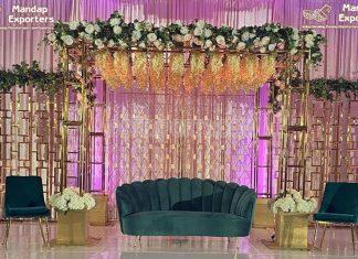 Trending Metal Mandap Chuppah for Wedding