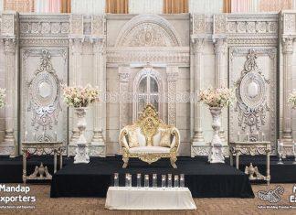 Wedding Reception Grand Stage Setup USA