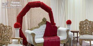 Astonishing Wedding Reception Stage Sofa Set