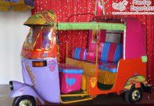 Awesome Wedding Photo Booth Auto Rickshaw