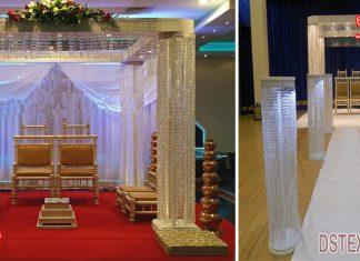 Best Wedding Hanging Crystal Mandap Decoration