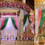 Elegant Indian Wedding Maharani Mandap Decor