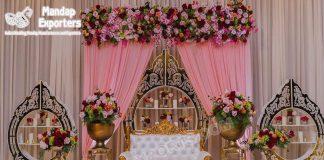 Elegant Look Wedding Backdrop Frame For Stage