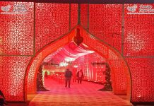 Grand Wedding Gate Wrought Iron Arches