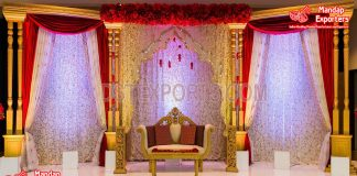Wedding Backdrops Embroidered Curtains